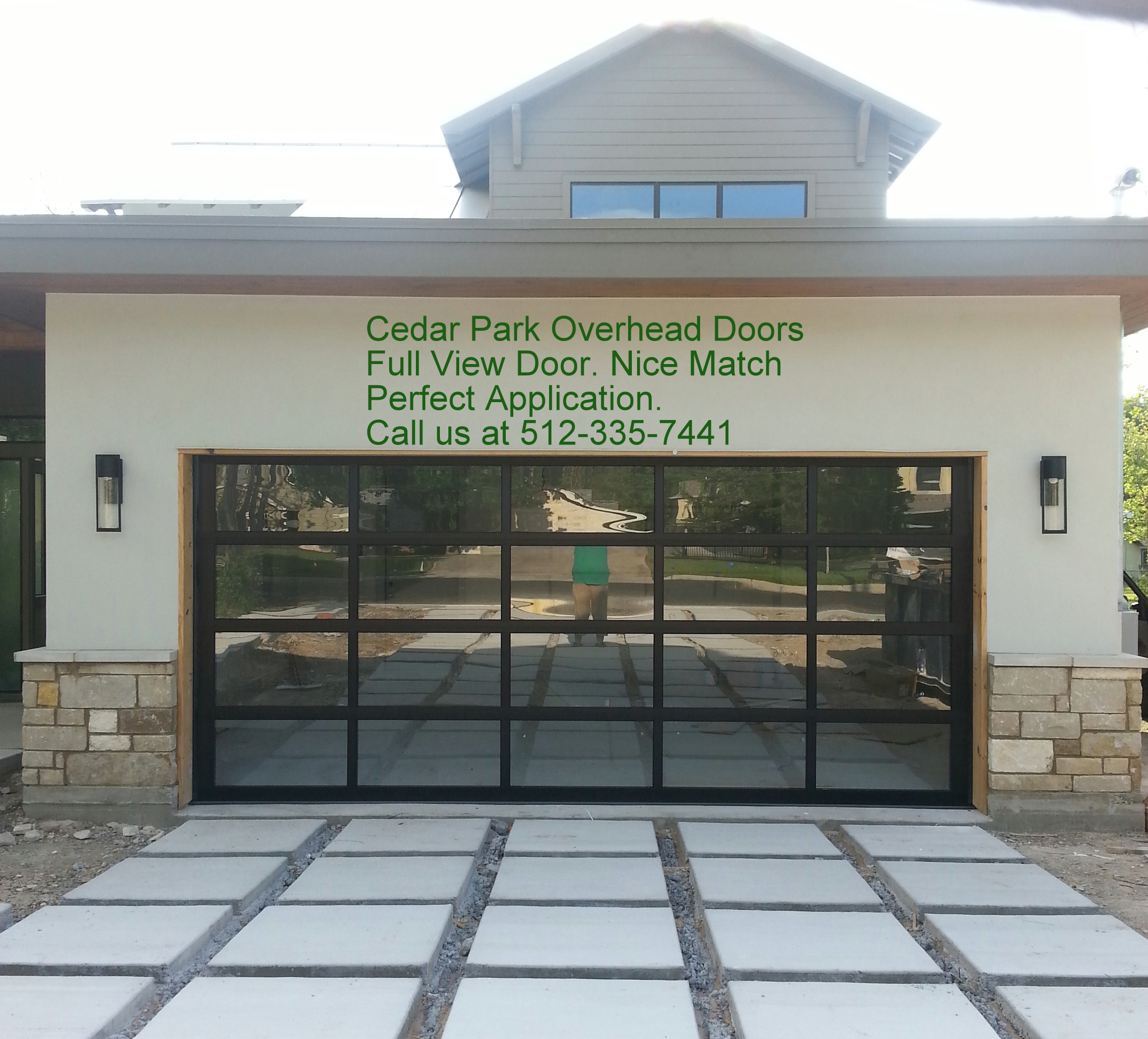 Fullview Door. Full View Aluminum   Glass Doors   Cedar Park Overhead Doors